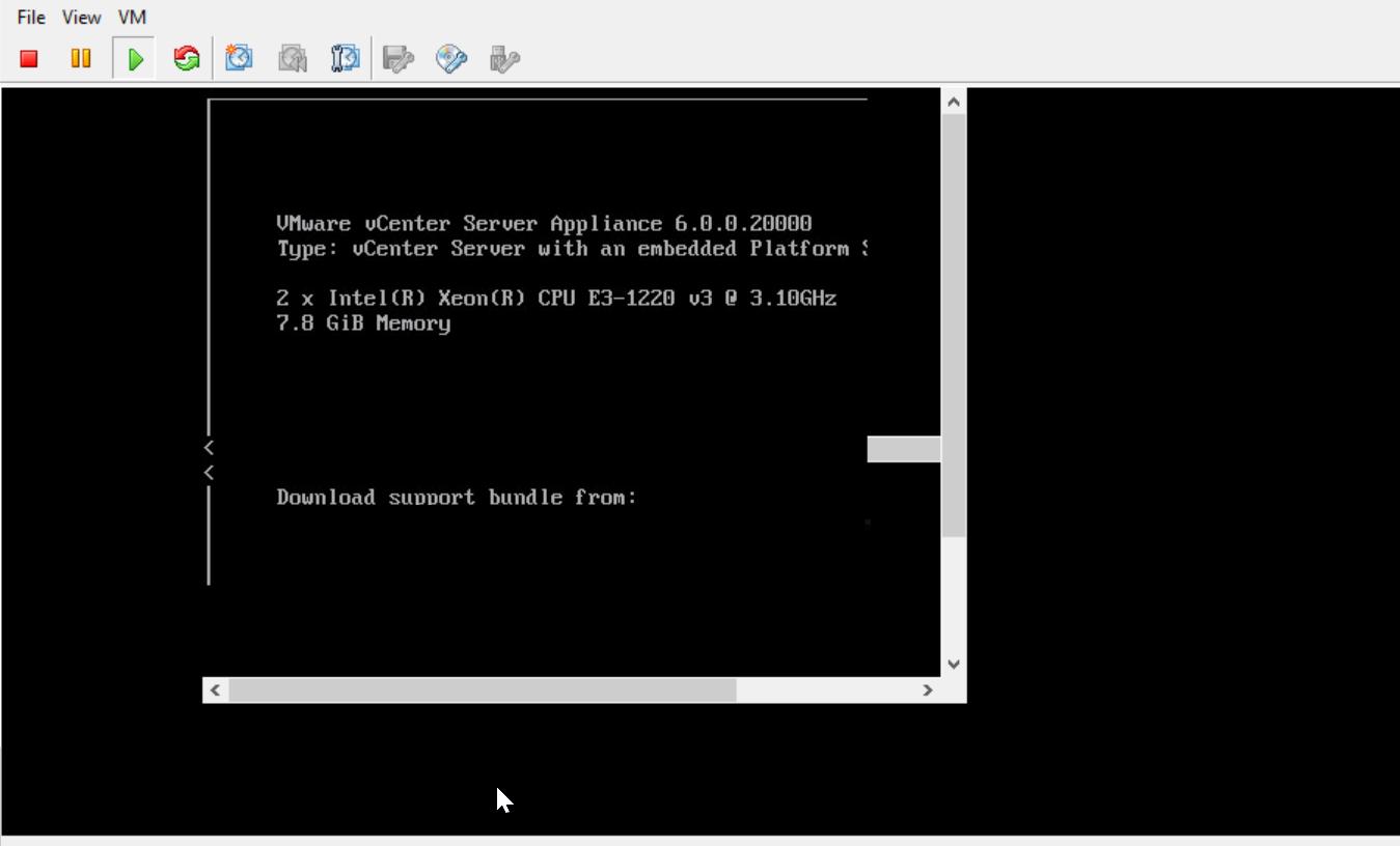 vSphere Client Console Black Screen | raid-zero com